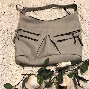 Beautiful Light Grey Fashion Bag